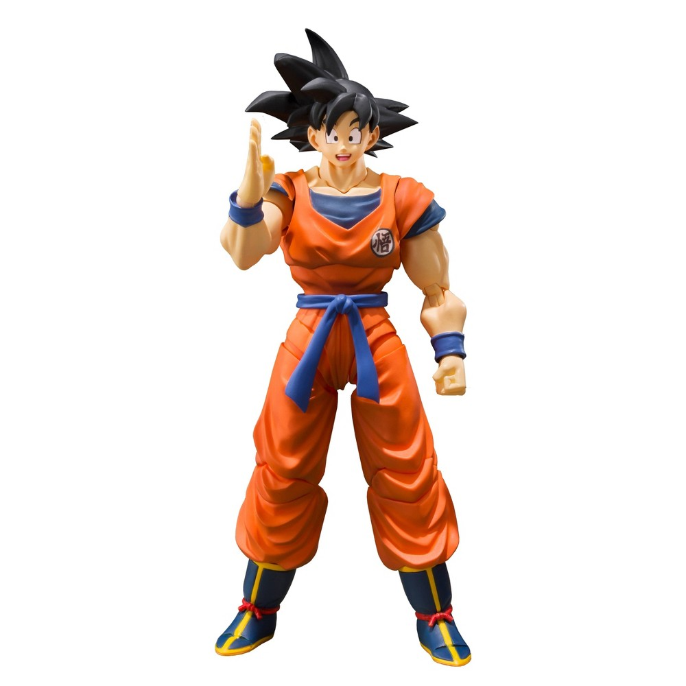 Image of S.H. Figurarts Son Goku A Saiyan Raised On Earth Action Figure