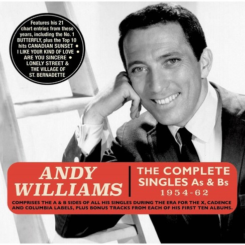 Andy Williams - Complete Singles As & Bs: 1954-1962 (CD) - image 1 of 1