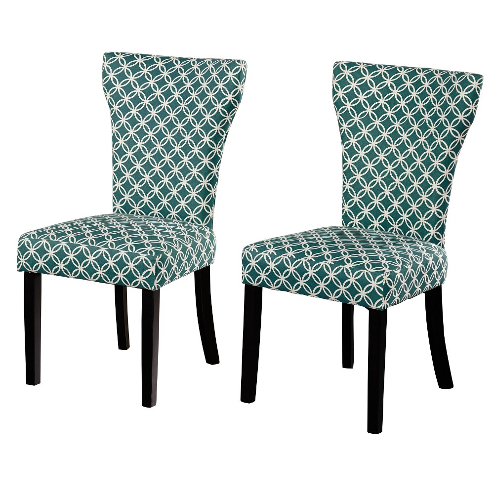 Set of 2 Celine Chair - Teal (Blue) - Buylateral