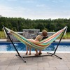 Vivere 9ft Polyester Hammock with Stand - image 2 of 4