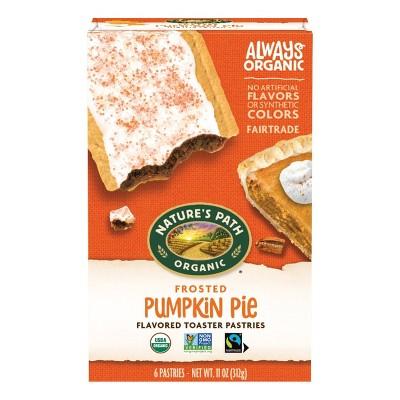 Nature's Path Organic Pumpkin Pie Toaster Pastry - 6ct/11oz