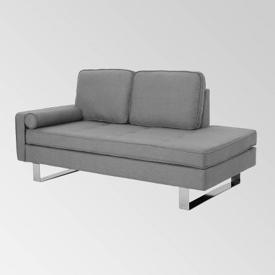 Typhaine Modern Chaise Loveseat - Christopher Knight Home