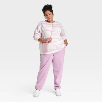 Women's Plus Size Fleece Loungewear Collection - Ava & Viv™