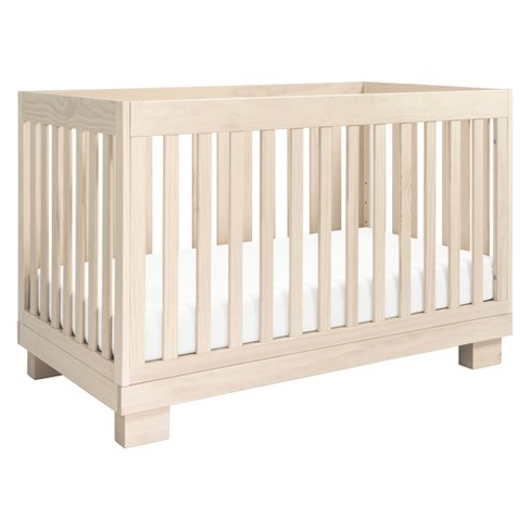 babyletto modo 3 in 1 convertible crib with toddler rail 87242