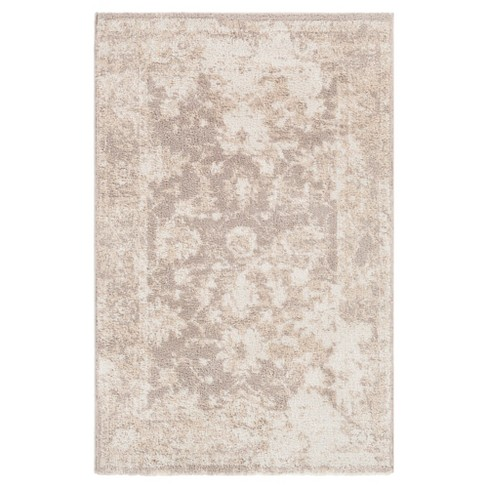 White Solid Tufted Area Rug - (8'X10') - Surya - image 1 of 2