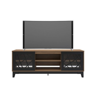 "72"" Graphik Tv Stand Cinnamon/Black - Nexera"