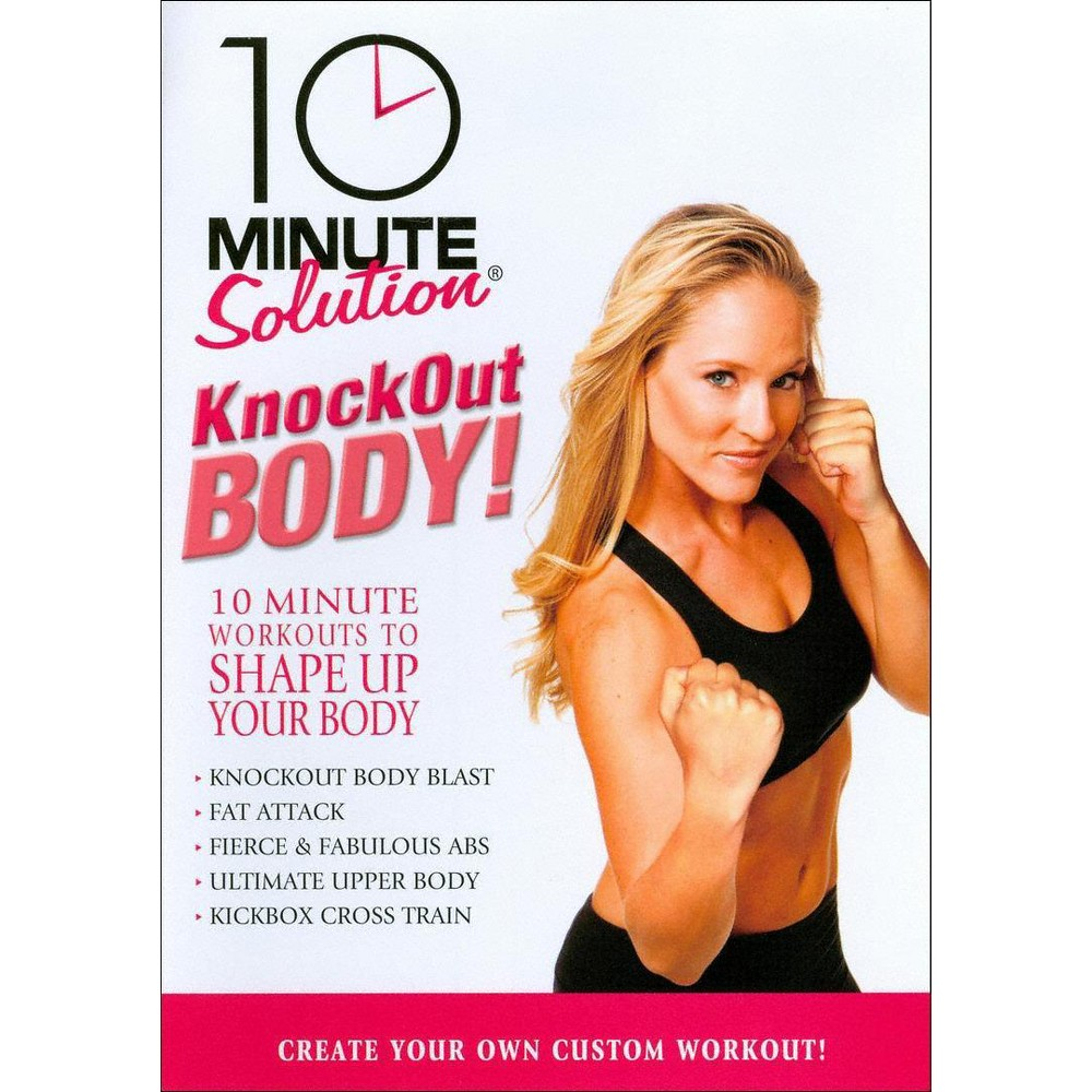 10 Minute Solution:Knockout Body Work (Dvd)