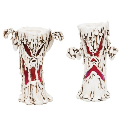 Gallerie II Haunted Candlestick LED, Set of 2