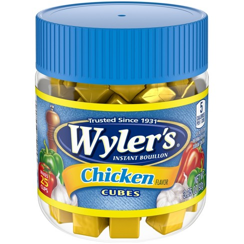 Wylers Instant Bouillon Cubes Chicken Flavor 3.25 oz - image 1 of 3