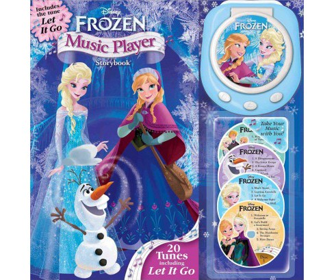 Disney Frozen Music Player Storybook (Hardcover) - image 1 of 1