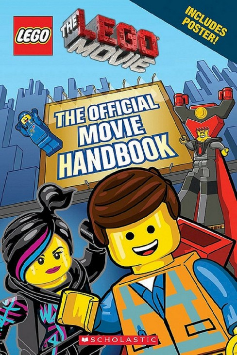 The Lego Official Movie Handbook ( Lego: the Lego Movie) (Mixed media product) by Ace Landers - image 1 of 1