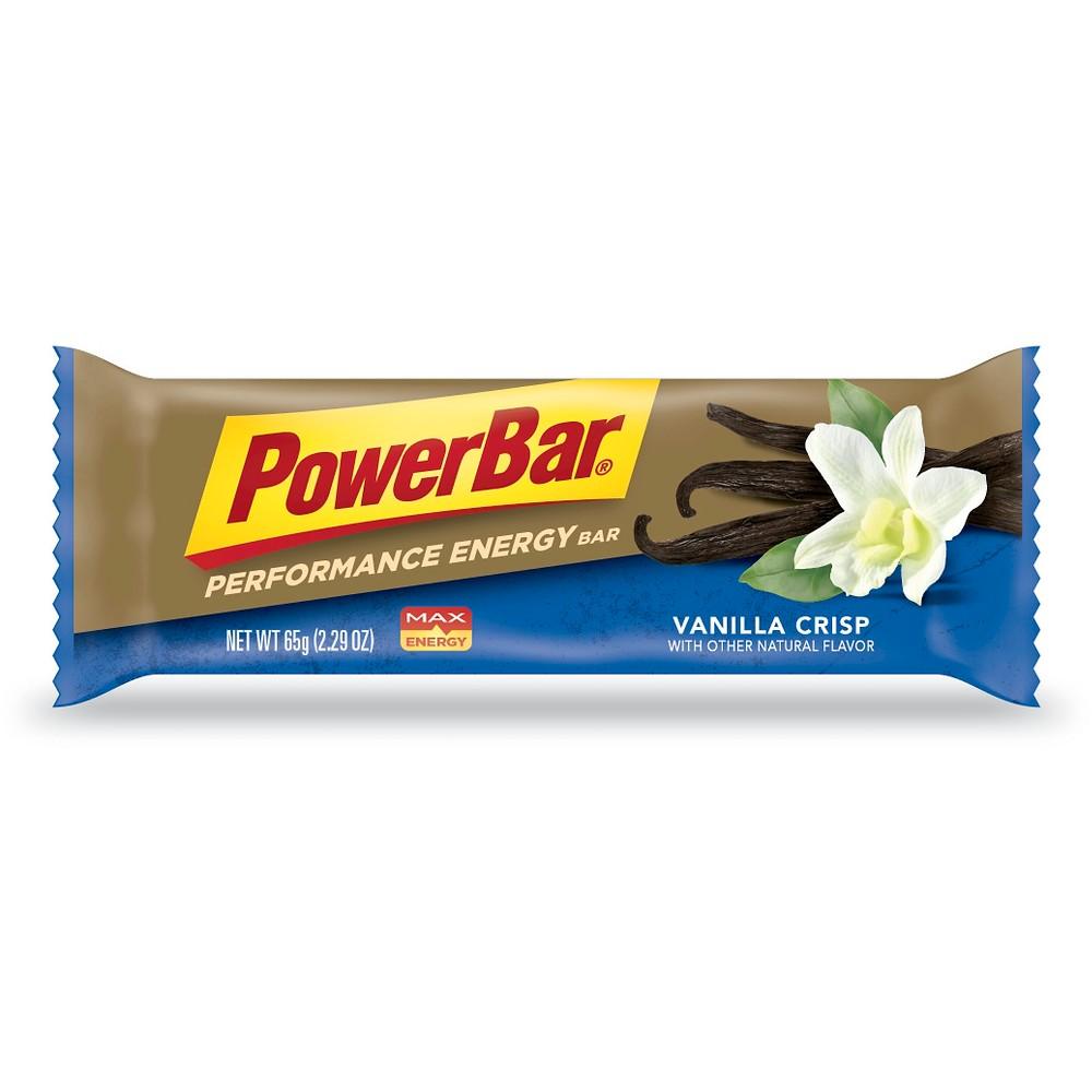 PowerBar Performance Energy Bar - Vanilla Crisp - 12ct