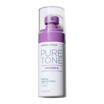 Formula 10.0.6 Pure Tone Vitamin B Refining Light Gel Toner - 2.7 fl oz