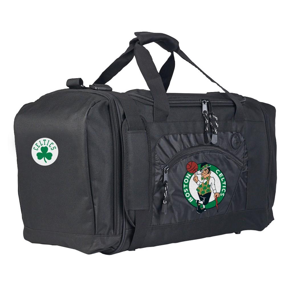 NBA Boston Celtics 20 Roadblock Duffel Bag - Black