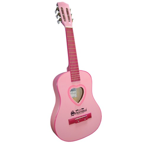 "Schoenhut 6-String Acoustic Guitar (30"") - Pink - image 1 of 1"