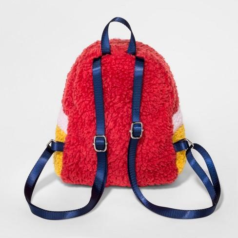 affacf3d0b5 Toddler Girls  Sherpa Backpack Handbag - Cat   Jack™ Pink   Target