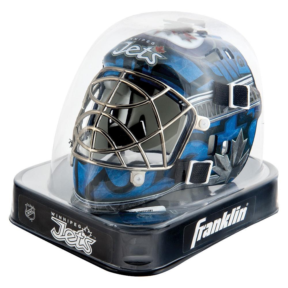 Franklin Sports Nhl Winnipeg Jets Mini Goalie Mask