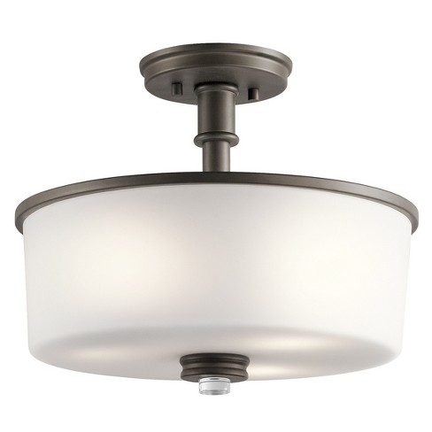 "Kichler 43926 Joelson 14.25"" Wide 3 Light Semi-Flush Ceiling Fixture - image 1 of 1"