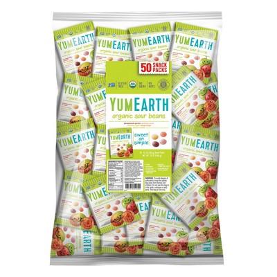 Gummy Candies: YumEarth Sour Beans