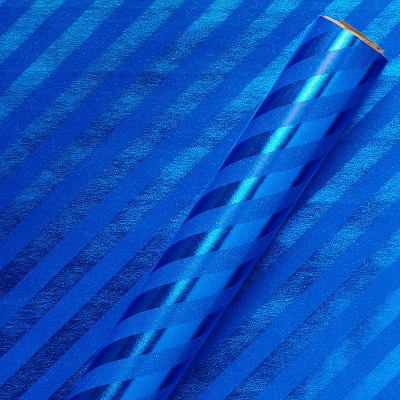 Stripes Wrapping Paper Blue - Spritz™