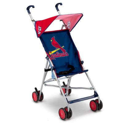 Delta Children MLB St. Louis Cardinals Lightweight Umbrella Stroller