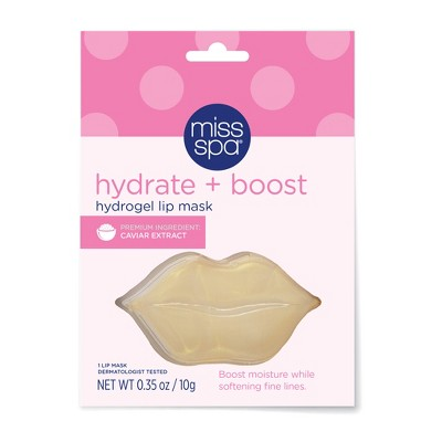 Miss Spa Hydrate and Boost Hydrogel Lip Mask - 1ct/0.35oz
