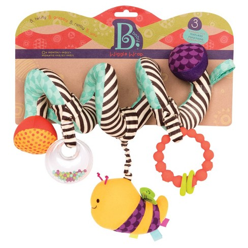 Baby B. Wiggle Wrap Stroller Toy - image 1 of 3