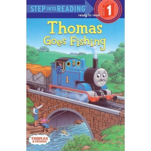 Thomas Goes Fishing - (Step Into Reading: A Step 1 Book) by  Wilbert Vere Awdry (Hardcover) - image 1 of 1