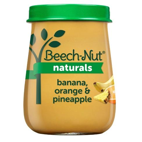 Beech-Nut Naturals Banana Orange & Pineapple Baby Food Jar - 4oz - image 1 of 3