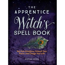 The Green Wiccan Magical Spell Book - By Silja (Paperback
