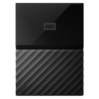 WD 2TB Black USB 3.0 My Passport Portable External Hard Drive - Black (WDBYFT0020BBK-WESN)