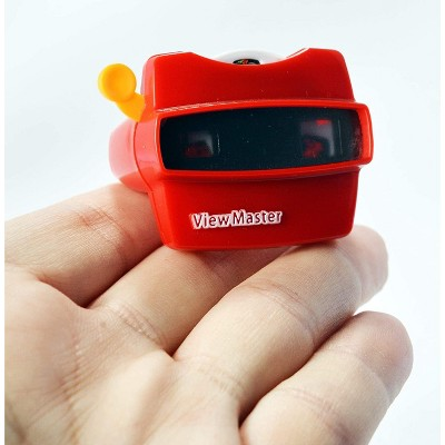 Super Impulse World's Smallest Mattel Viewmaster Retro Mini Toy