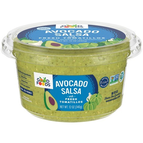 Good Foods Tomatillo Avocado Salsa - 12oz - image 1 of 4
