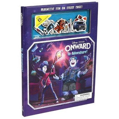 Disney Pixar Onward: To Adventure! - (Magnetic Hardcover)(Hardcover)