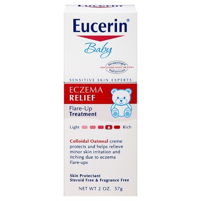 Eucerin Baby Eczema Relief Instant Therapy Cream - 2oz