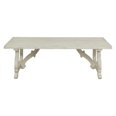 Orchard Park Cocktail Table White - Treasure Trove