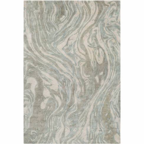 Rectangle Wool Hand Tufted Contemporary