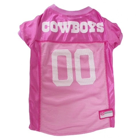 online retailer 7bcb2 89b64 NFL Pets First Pink Pet Football Jersey - Dallas Cowboys