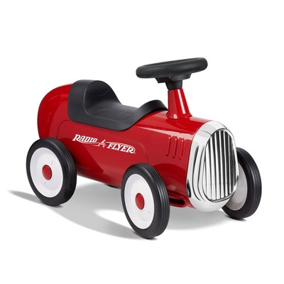 Radio Flyer 608Z Classic Style Design Steel Body Kids Little Red Roaster with Durable Quiet Drive Rubber Tires and Fun Sound Horn