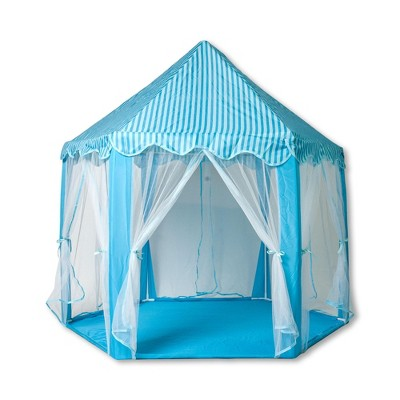 Ningbo Zhongrui Import And Export Co Blue Hexagon Fantasy Castle Play Tent | 53 x 47 x 55 Inches