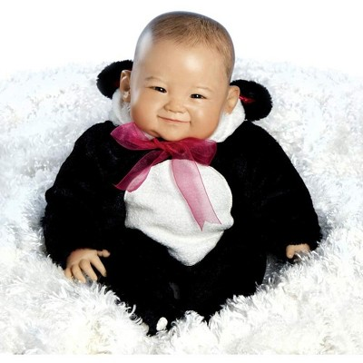 Paradise Galleries Reborn Baby Doll, 20 inch Realistic Girl Doll Su-lin in GentleTouch Vinyl & Weighted Body