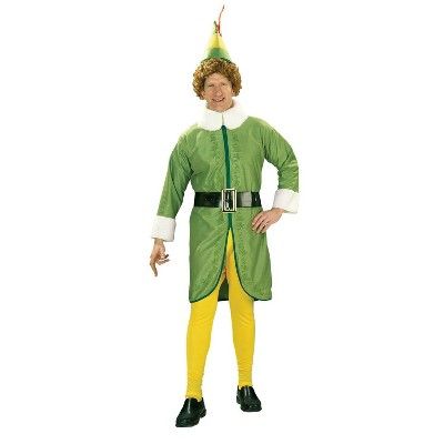 Adult Buddy The Elf Halloween Costume One Size
