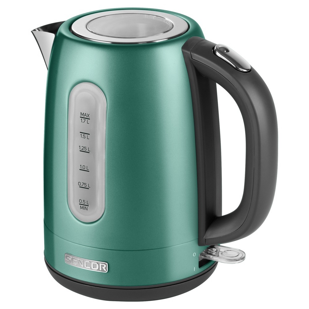 Sencor Metallic 1.7L Stainless Steel Electric Kettle – Green 54281520