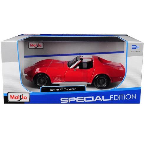 1970 Chevrolet Corvette Red 1/24 Diecast Model Car by Maisto - image 1 of 1
