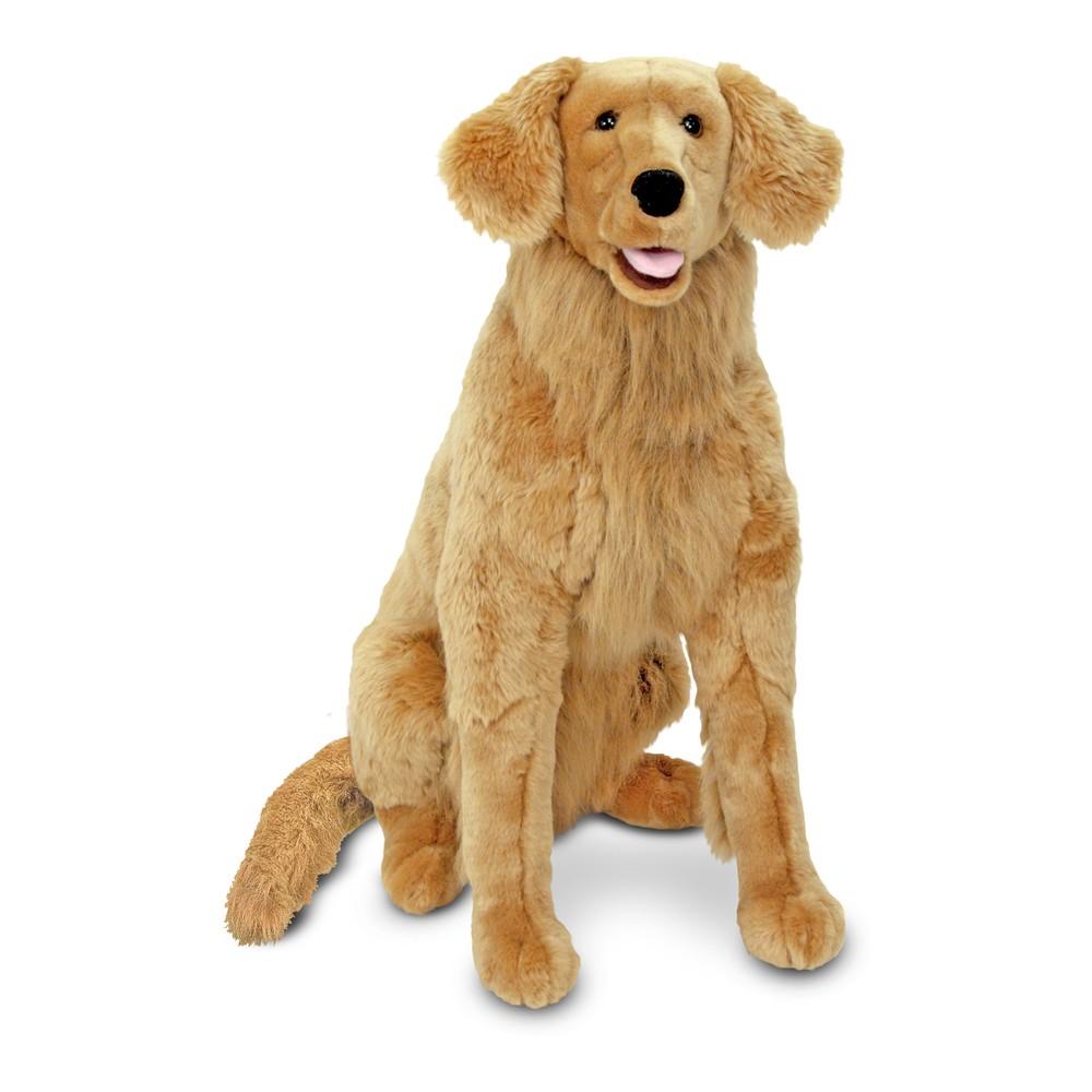 Melissa 38 Doug Giant Golden Retriever Lifelike Stuffed Animal Dog Over 2 Feet Tall