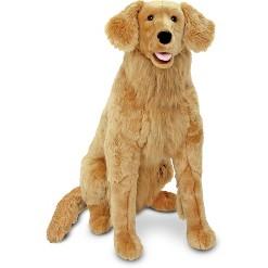 Melissa & Doug Giant Golden Retriever - Lifelike Stuffed Animal Dog (over 2 feet tall)