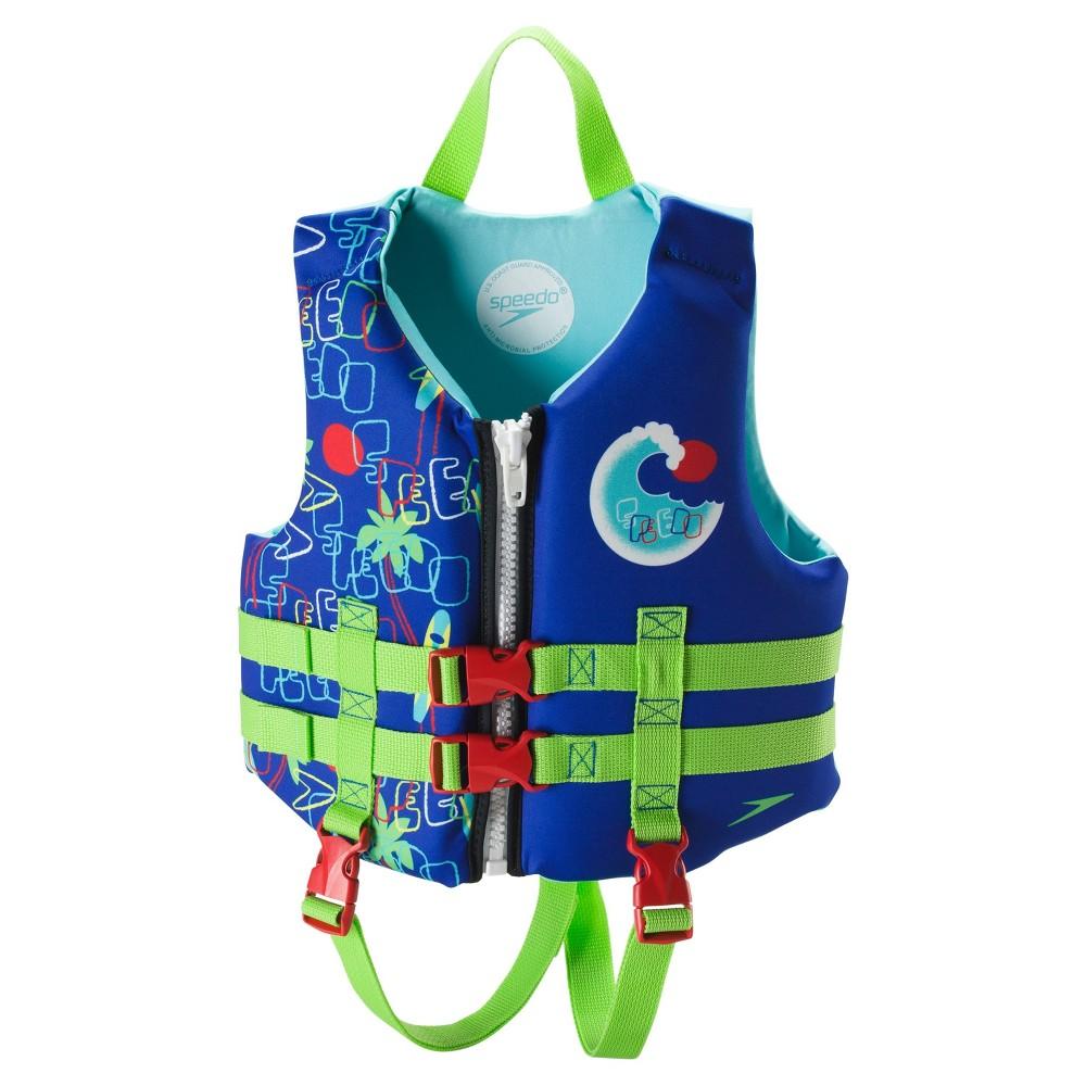 Speedo Child Kids Neoprene Lifevest - Navy (Blue)