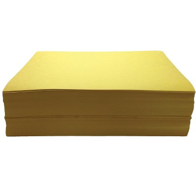 Childcraft Construction Paper, 9 x 12 Inches, Yellow, 500 Sheets
