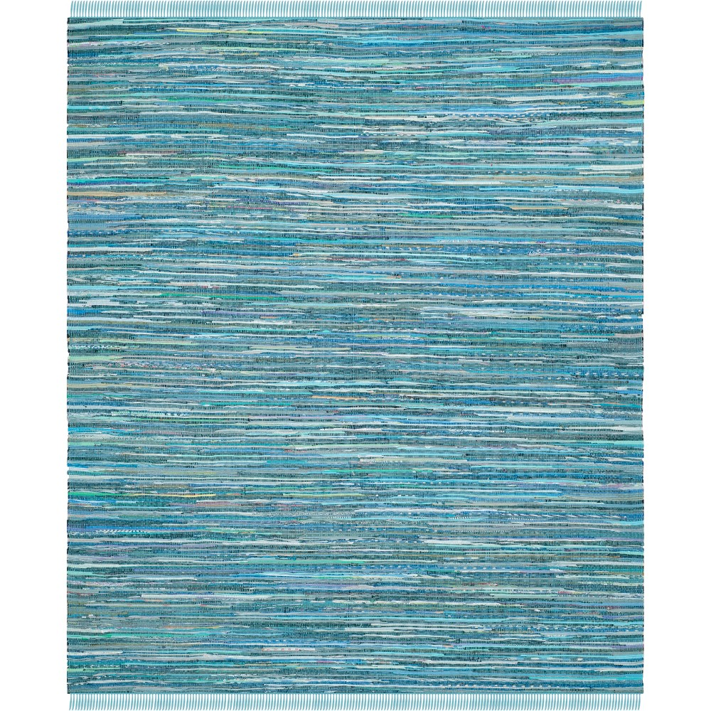 Spacedye Design Woven Area Rug Blue
