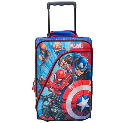 Marvel Avengers Kids' Carry On Suitcase - Red/Blue/White